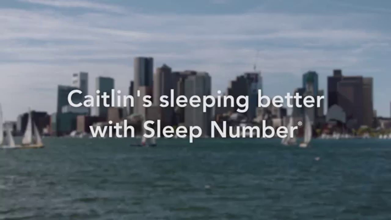 sleep number's adjustable bed changed how caitlin sleeps - youtube