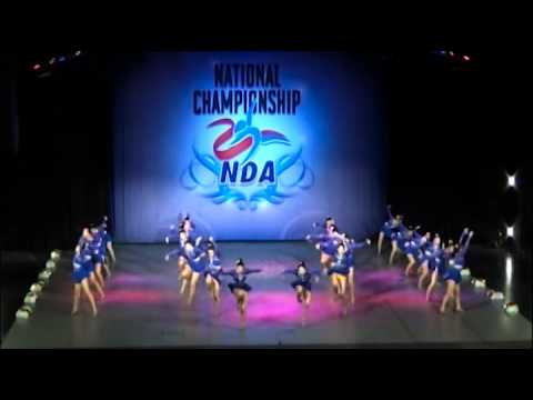 "The cheerleader club ""JETS"" at NDA National Championship 2016"