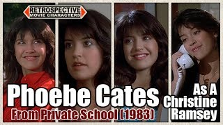 Phoebe Cates As A Christine Ramsey From Private School (1983)