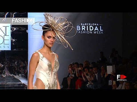 SONIA PEÑA Barcelona Bridal Fashion Week 17 - Fashion Channel
