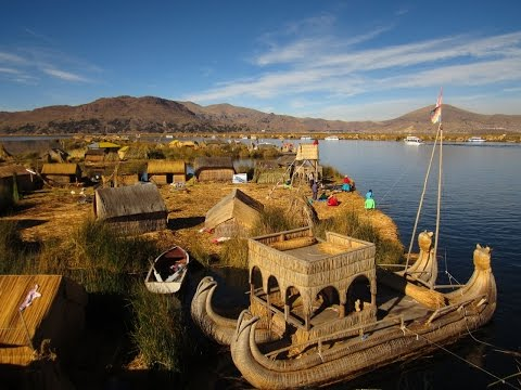 Exploring The Floating Islands Of Lake Titicaca In Peru