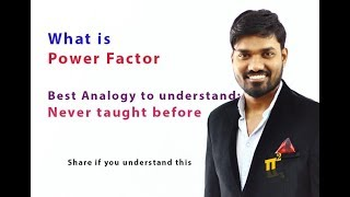 What exactly is power factor and efficiency | Interview Question | PiSquare Academy