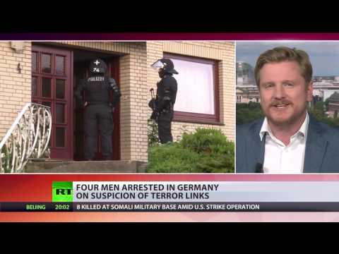 Germany Raids: 4 men arrested in Hamburg on suspicion of terrorist links