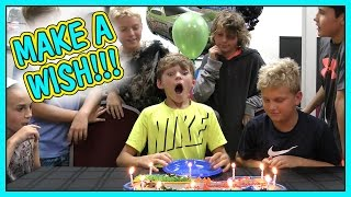 IT'S TYLER'S 11TH BIRTHDAY CELEBRATION! | DOES KAYLA RACE THE BOYS? | We Are The Davises