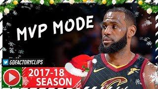 LeBron James Full Highlights vs Bulls (2017.12.21) - 34 Pts, 9 Ast, CLUTCH BEAST!