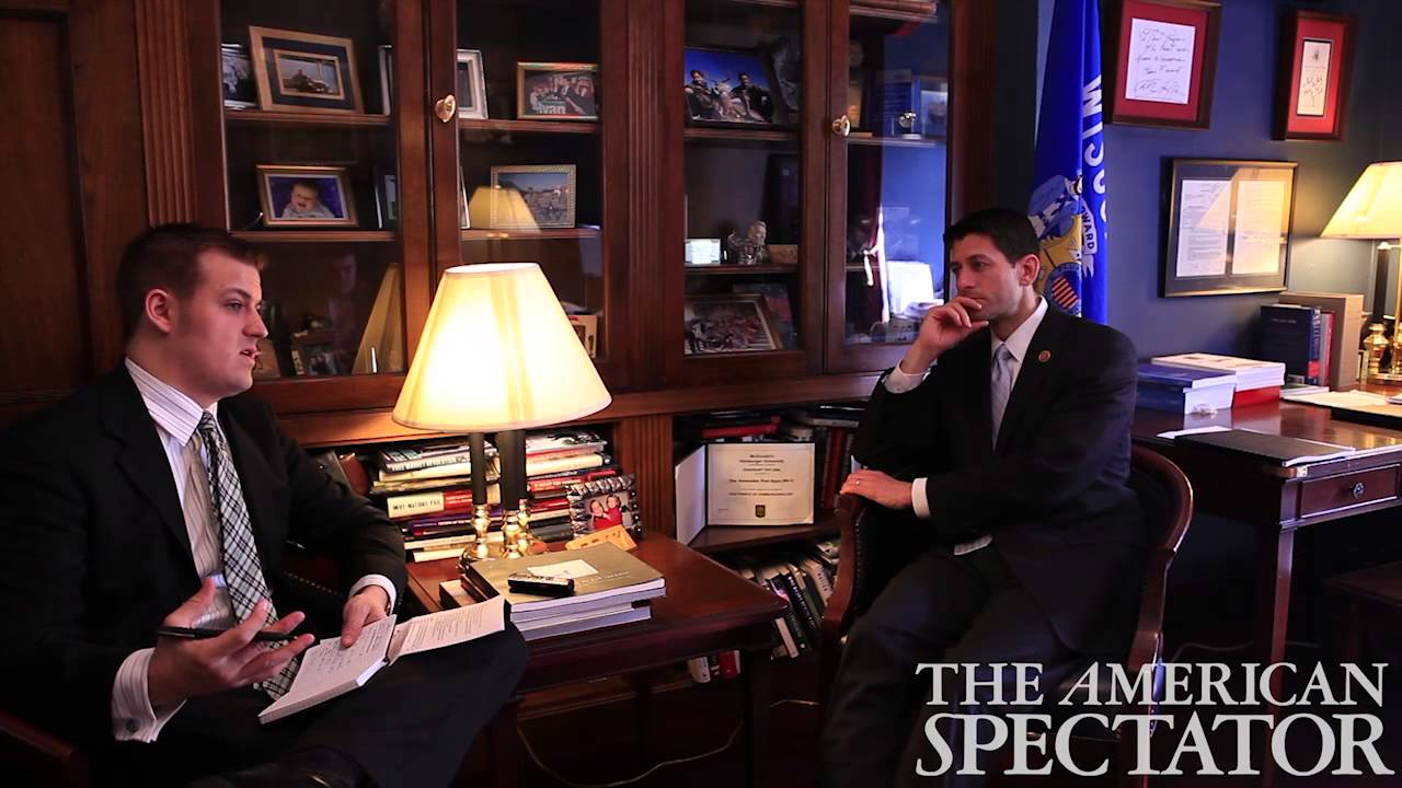 Kindle Vs Sony Reader: The American Spectator Interview With Paul Ryan
