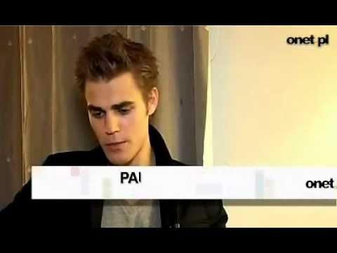 onet.pl interview - Paul Wesley speaks polish