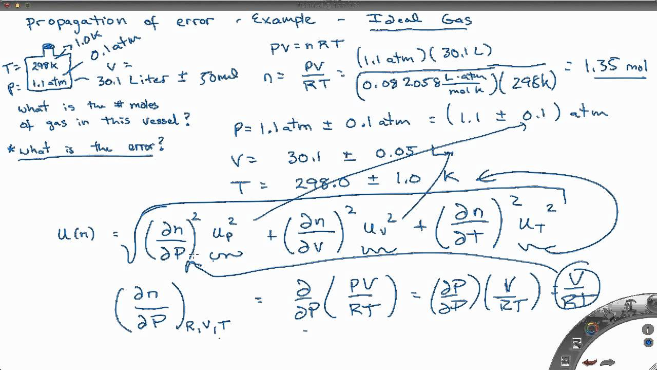 experimental uncertainty and error analysis Notes on data analysis and experimental uncertainty prepared by david b pengra, university of washington, and l thomas dillman, ohio wesleyan.