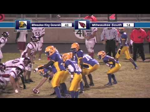 Milwaukee Rufus King vs.Milwaukee South football game 2014