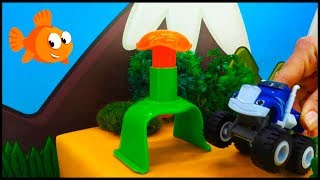 DESTROY EARTH the EVIL BUTTON! - Monster Machines Toy Cars videos for kids