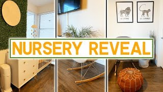 OUR NURSERY REVEAL!!! | UPDATED APARTMENT TOUR!!!