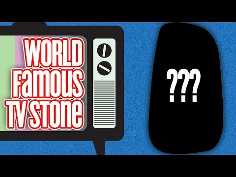 Unboxing The World Famous TV Stone!