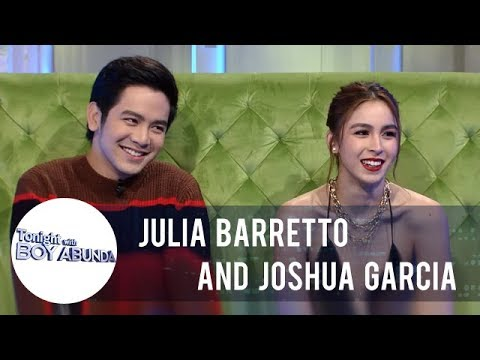 TWBA: Joshua and Julia reveal that their new houses are 5 minutes away from each other