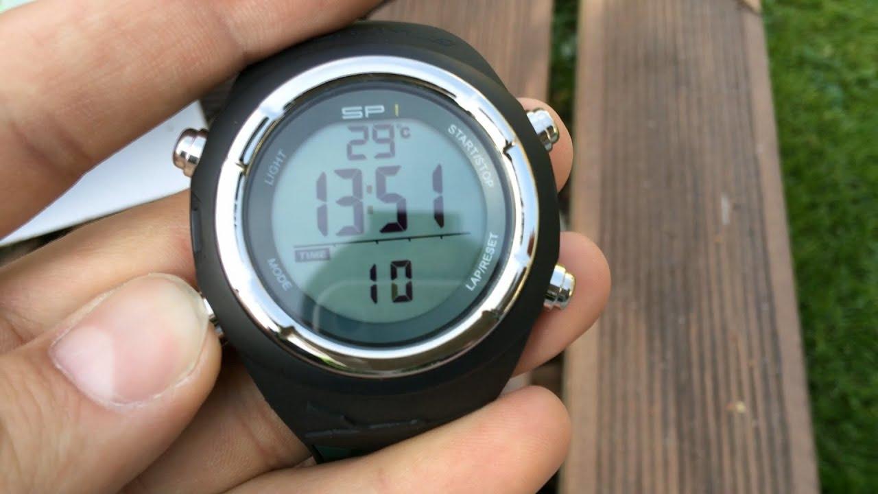 подводная охота #16 обзор часы Sporasub SP1