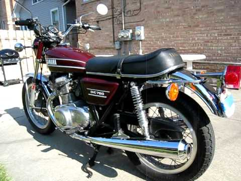 1974 yamaha tx 750 youtube for Yamaha suzuki of texas