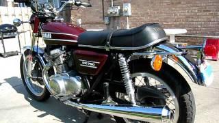 1974 yamaha tx 750