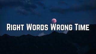 Carly Rae Jepsen - Right Words Wrong Time (Lyrics)