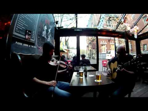 Adam Shapiro and Dominic Crosbie  Fiddle and Guitar  Reels