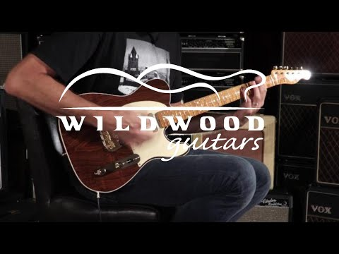 Fender Custom Shop Wildwood 10 Artisan Telecaster - Figured Rosewood  •  SN: CZ526886