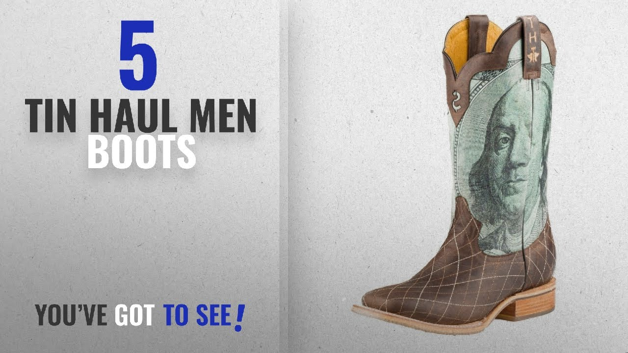 6dbe4120408 Top 10 Tin Haul Men Boots [ Winter 2018 ]: Tin Haul Shoes Men's Money to  Burn Work Boot, Brown, 8.5