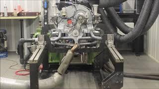 Porsche 356 sur banc moteur - LORRTEC