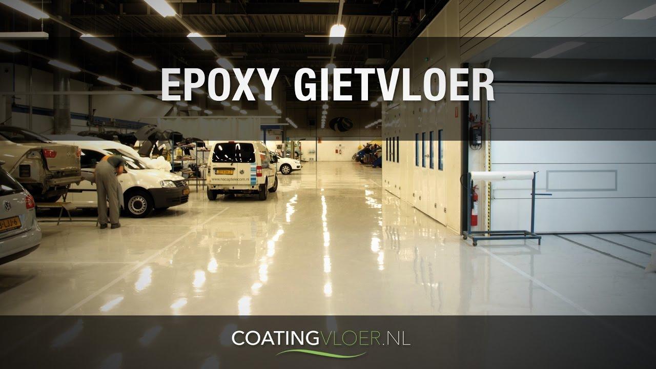 Epoxy gietvloer van coatingvloer.nl youtube