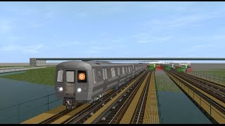 Trainz Special: R68 (D) Train (205 St - Coney Island) {All Stops}