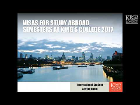 Visas for Study Abroad students (2017)