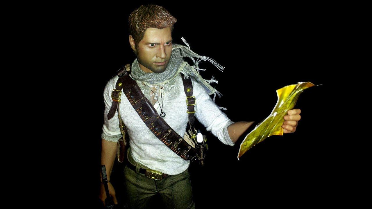 Sideshow Collectibles Uncharted 3 Nathan Drake 1 6 Figure Youtube