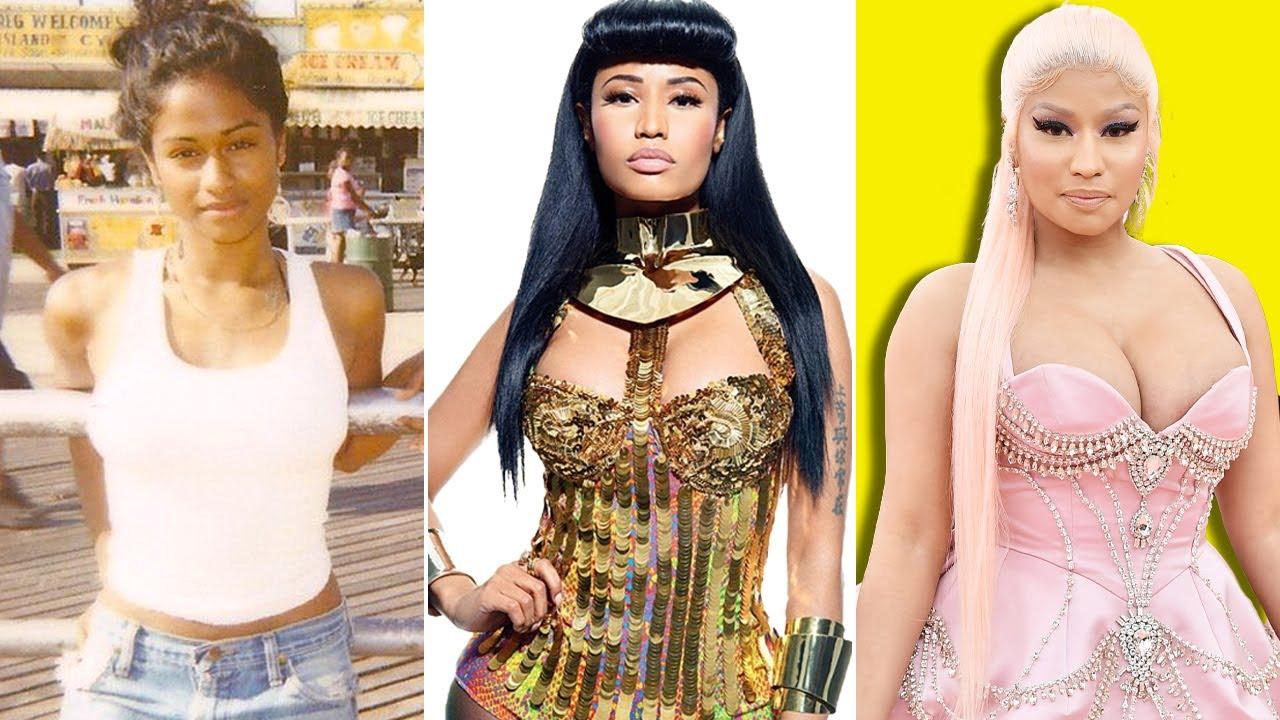 Nicki Minaj Transformation 2021   From 01 To 38 Years Old