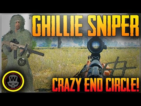 CRAZY END CIRCLE in SOLO PUBG! (PLAYERUNKNOWN\'S BATTLEGROUNDS)