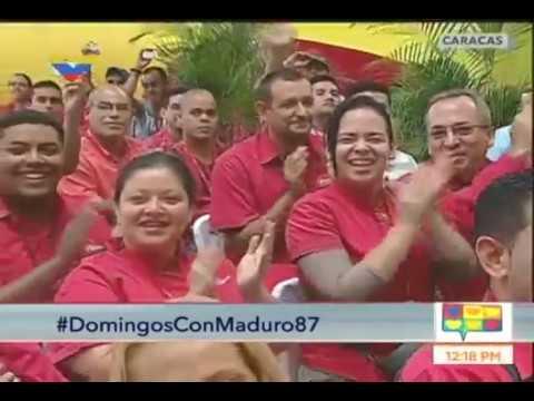 Los Domingos con Maduro #87, programa completo desde el Metro de Caracas