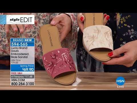 HSN | Lucky Brand Footwear 03.06.2018 - 06 PM