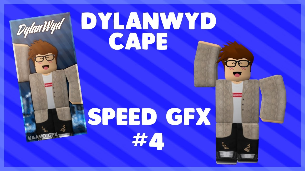 Roblox Dylanwyd Cape Speed Gfx Youtube