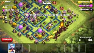 Clash of clans attack on townhall lvl 11