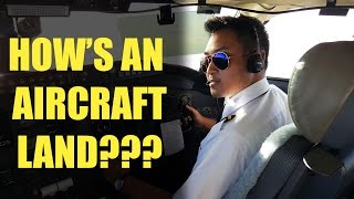 how to land an aircraft bombardier crj 1000