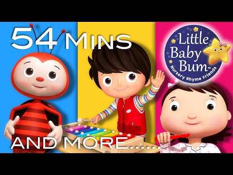 Nursery Rhymes Volume 8 | Plus Lots More Nursery Rhymes | 54 Minutes Compilation from LittleBabyBum!