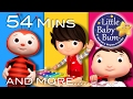 Nursery Rhymes Volume 8 | Plus Lots More Nursery Rhymes | 54 Minutes Compilation From Littlebabybum! video