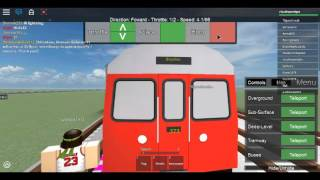 (Roblox) Operating the Various Vehicles of the London Underground P4