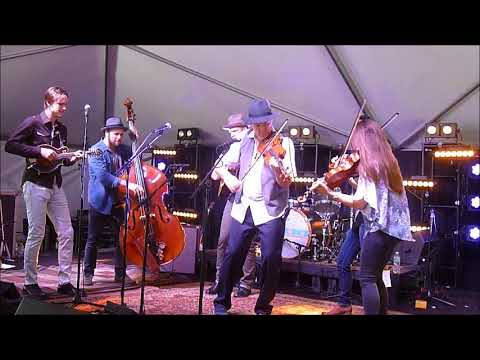 Mark O'connor Family Band WMOT tent @ 2017 Americanafest
