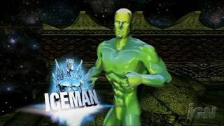 Marvel: Ultimate Alliance PlayStation 3 Trailer - Iceman