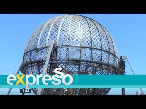 AUSSIE Circus Stunt: Zoë's Globe of Death experience
