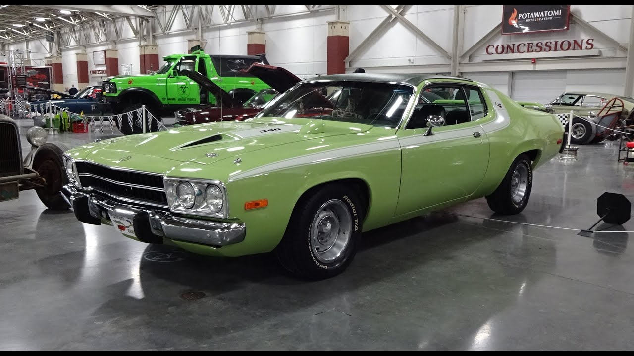 Road Runner Auto Sales >> 1973 Plymouth Road Runner & Engine start up @ World of Wheels on My Car Story with Lou Costabile ...