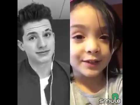 duet on Smule app One Call Away  Charlie Puth & Joana