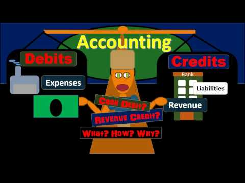 200 Debits & Credits Normal Balance - Double Entry Accounting Sy