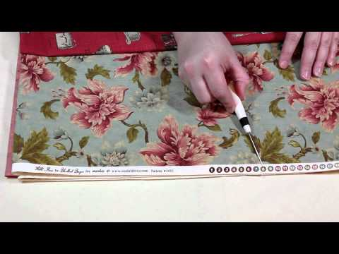 Beginning Quiltmaking Lesson 3 - Fabric Anatomy Part 2