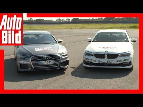 Audi A6 (2018) vs BMW 5er (2017) Vergleich/Test/Review