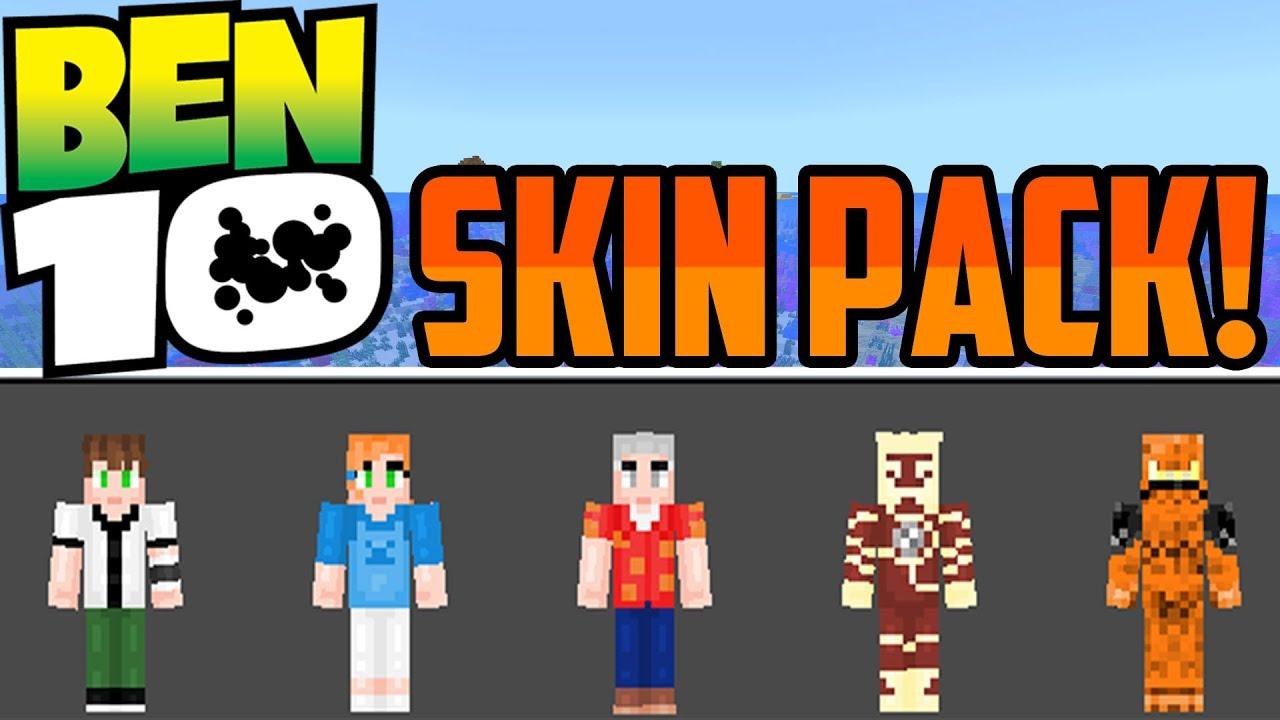 Minecraft Bedrock: Ben 11 Skin Pack (Download)