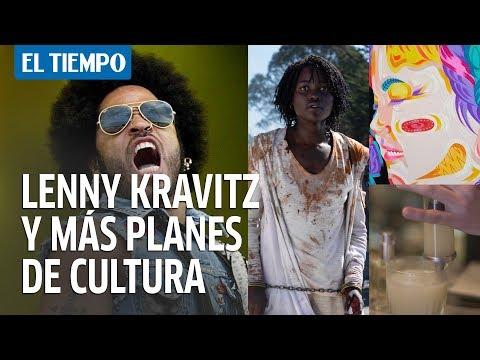 Entrevista a Lenny Kravitz, cine, gastronomía y otros planes en Bogotá