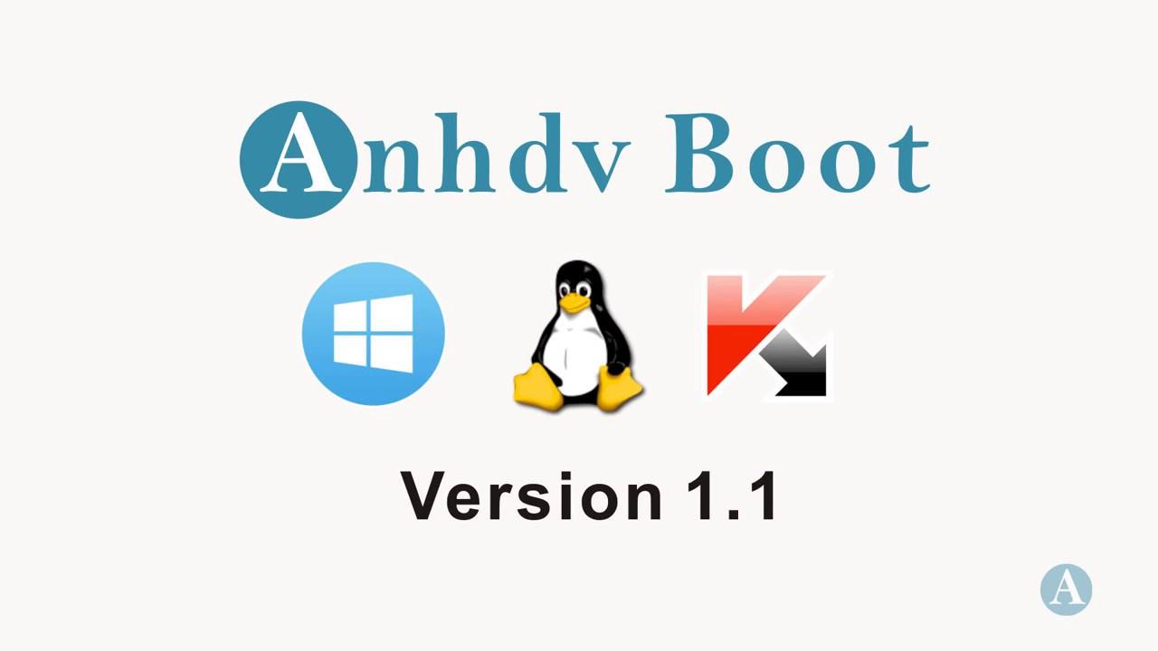 Anhdv Boot 2017 v1.1 – Cách thêm Modul Boot
